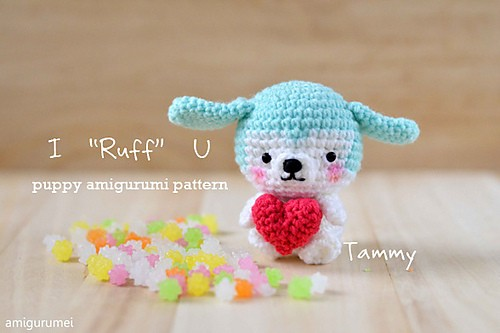 [Free Pattern] This Lovely Amigurumi Puppy Is The Perfect And Loveable Gift For Any Child Or Adult