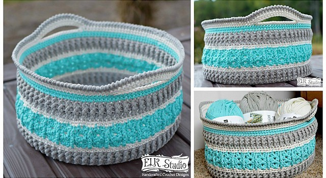 Free Pattern This Gorgeous Crochet Basket Will Make Your Home
