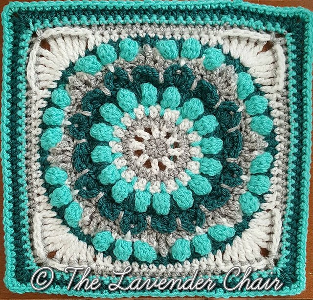 [Free Pattern] Add Beauty And Texture To Any Project With This Gorgeous Mandala Square Pattern