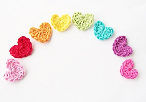 Free Pattern This Tiny Crochet Heart Is A Brilliantly Simple Idea