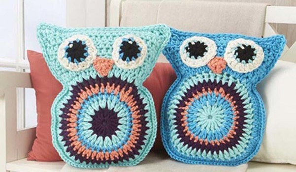 [Free Pattern] Super Cozy And Adorable Owl Pillow Pals