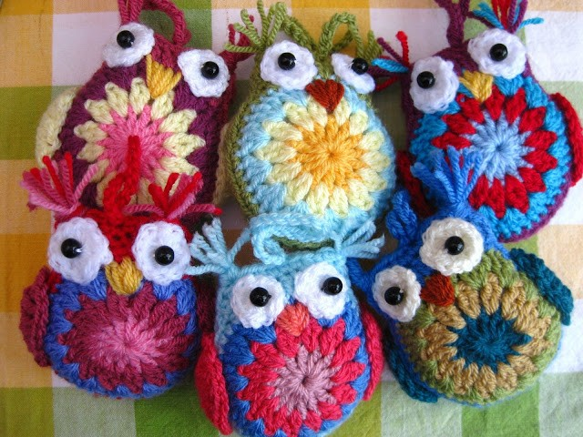 [Free Pattern] These Little Woolly Owls Are Gorgeous And Easy To Make