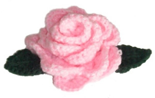 [Free Pattern] Gorgeous Little Crochet Rose