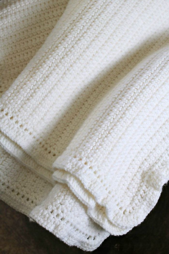 Knit Baby Blanket Pattern Free Beginner