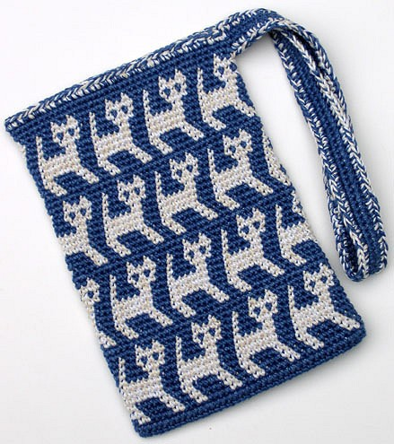 [Free Pattern] This Adorable Kitty Bag Is Simply Perrrrfect!