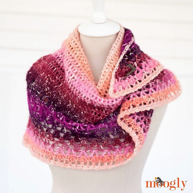 [Free Pattern] This One Skein Shawl Is The Perfect Gift For Stylish Women