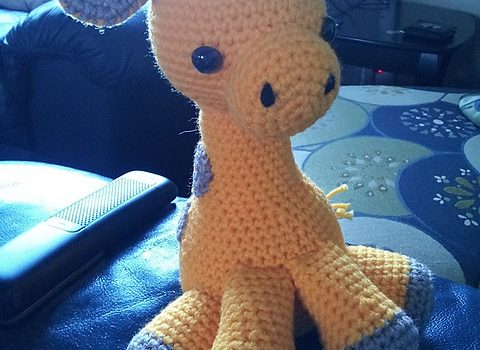 Amigurumi Easy Patterns Free : Free pattern easy and insanely adorable baby giraffe amigurumi