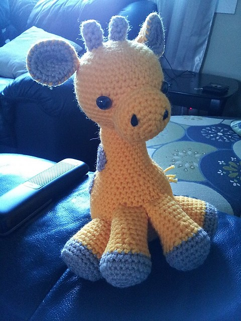 [Free Pattern] Easy And Insanely Adorable Baby Giraffe