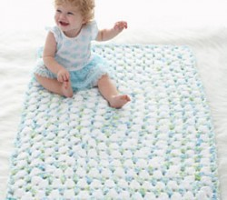 [Free Pattern] This Fast And Easy Blanket Works Up In No Time At All
