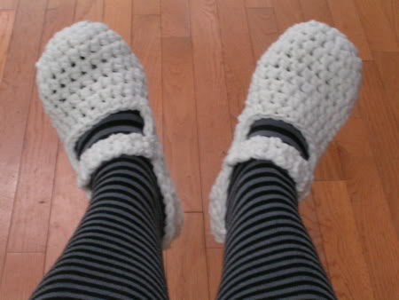 [Free Pattern] Fast And Easy Mary-Janes In 20 Minutes