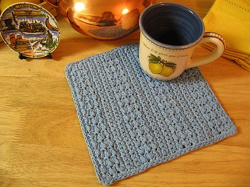 [Free Pattern] This Easy Textured Stripes Dishcloths Is Perfect For Gift Giving