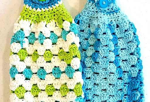 Free Pattern Insanely Clever And Easy Towel Crochet Pattern Knit