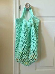[Free Pattern] This Perfect For Grocery Shopping Mesh Tote Will Handle Pretty Much Anything You Can Fit Into It