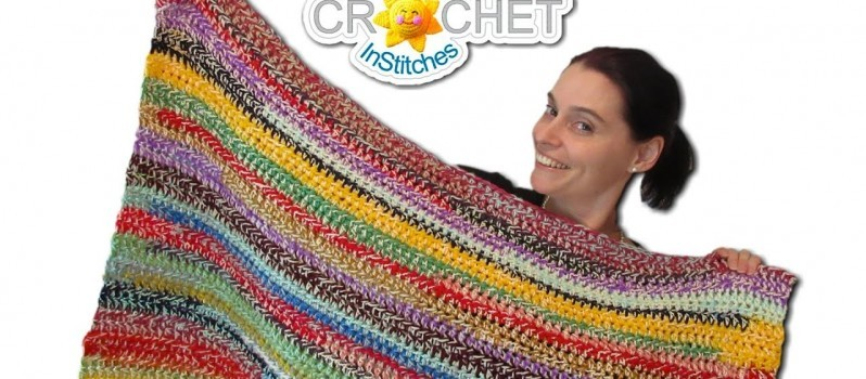 ... Crochet Blanket Pattern (2 Style Scrapghan) - Knit And Crochet Daily