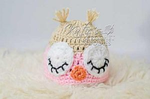 [Free Pattern] This Adorable Owl Hat Is Perfect For Photo Shoots And Baby Showers
