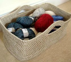 [Free Pattern] Perfect Storage Or Gift Basket Any Size And Shape You Want