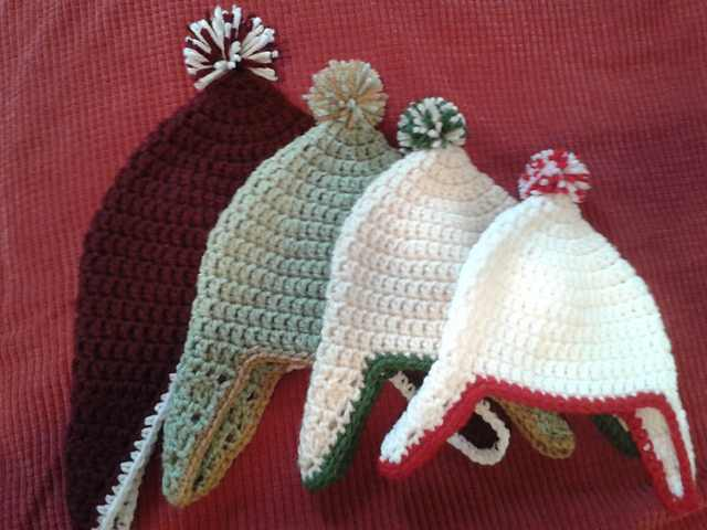 Free Pattern Any Kid Wants A New Winter Hat With Ear