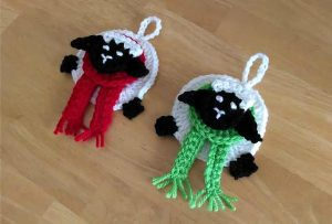[Free Pattern] Adorable And Creative Sheep Ornaments Your Kids Will Absolutely Love