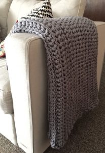 This Easy Free Crochet Afghan For Beginner Will Make Your Home Look Like You Hired An Interior Designer