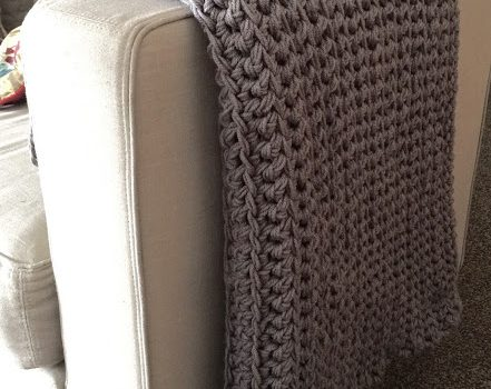 This Easy Free Crochet Afghan For Beginner Will Make Your Home Look