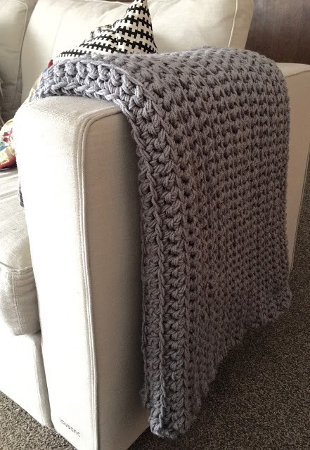 This Easy Free Crochet Afghan For Beginner Will Make Your