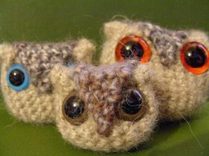 [Free Pattern] The Easiest Little Owlets Ever!
