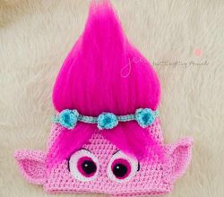 [Free Pattern] Fabulous Trolls Poppy Hat