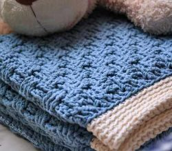 [Free Pattern] Beautiful And Versatile Basket Weave Afghan Baby Blanket