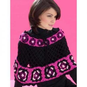 20 +Free Crocheted Poncho Patterns