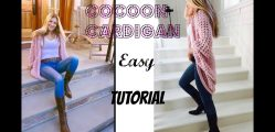 [Video Tutorial] Absolutely Gorgeous And So Easy Crochet Cocoon Cardigan
