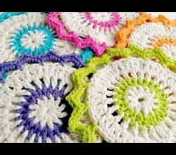 [Video Tutorial] Gorgeous Lotus Bloom Dishcloths You'll Absolutely Love