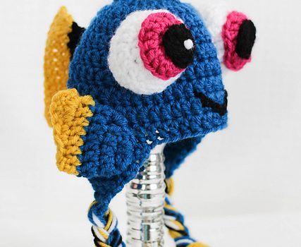 86370569b Free Pattern] Baby Dory Crochet Hat For All The Munchkins Out There ...