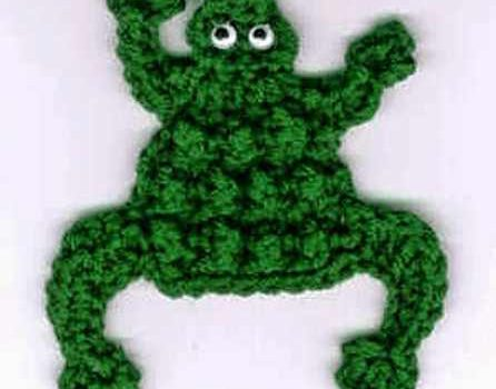 This Crochet Frog Is A Great Magnet For Your Fridge Knit And