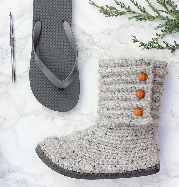 How To Brilliantly Turn Flip Flop Soles Into Gorgeous Boots For Winter