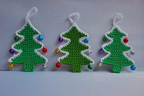 30 cute free crochet christmas ornaments patterns to decorate your tree knit and crochet daily. Black Bedroom Furniture Sets. Home Design Ideas