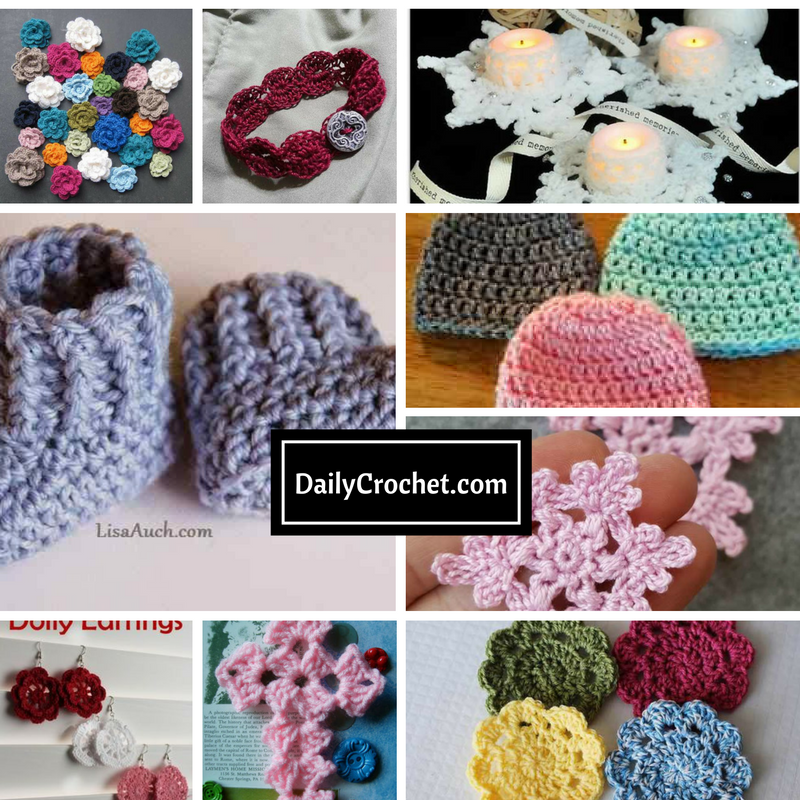 10+ Cute And Easy 10 Minute Crochet Projects [Free ...