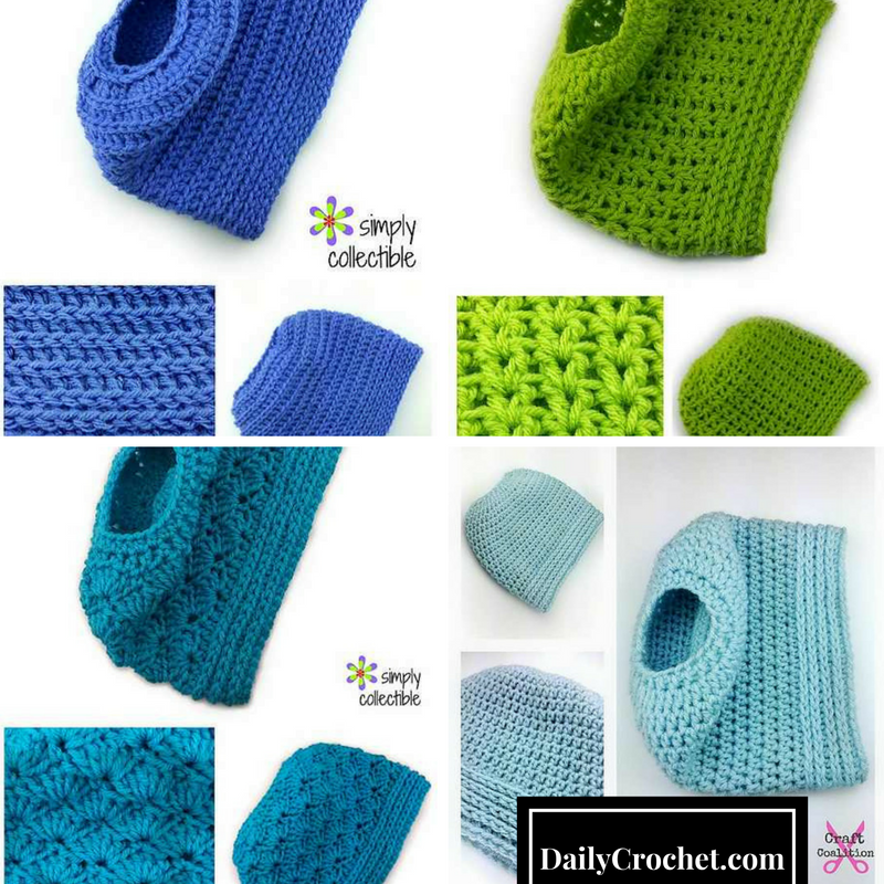4 Awesome Ponytail Hat And Bun Hat Crochet Free Patterns