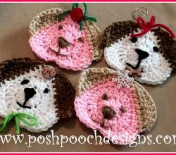 Adorable And Fun, These Crochet Dog Ornaments Will Fit Perfectly Hanging On Your Christmas Tree