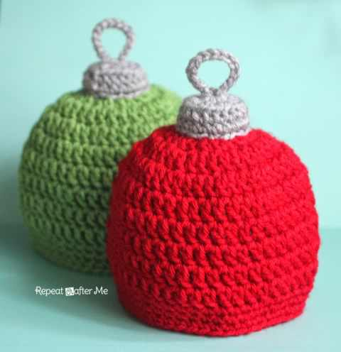 Quick And Easy Crochet Hat Or Cute Christmas Ornament Hat? This Pattern Has It All Figured Out!