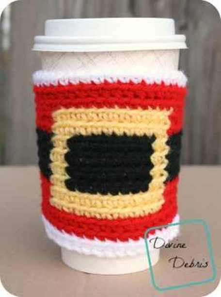 Fun Santa Belly Mug Cozy To Tickle Your Sense Of Ho-Ho-Ho
