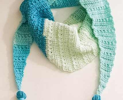 Free Pattern Super Stylish One Skein Crochet Scarf Knit And