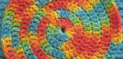 Spiral Crochet Hot Pads To Make, Use, And Admire