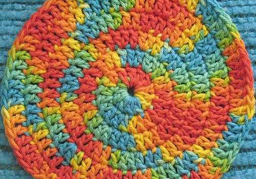 Spiral Crochet Hot Pads To Make, Use, And Admire - Knit And Crochet