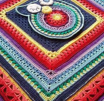 Gorgeous Sunshine Owl Blanket Pattern Knit And Crochet Daily