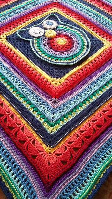 Gorgeous Sunshine Owl Blanket Pattern