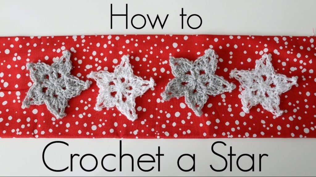 How To Make And Stiffen A Crochet Star -So Simple And Easy!