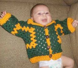 The Easiest And Quickest Baby Jacket Pattern Ever