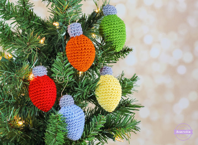 30 Cute Free Crochet Christmas Ornaments Patterns To