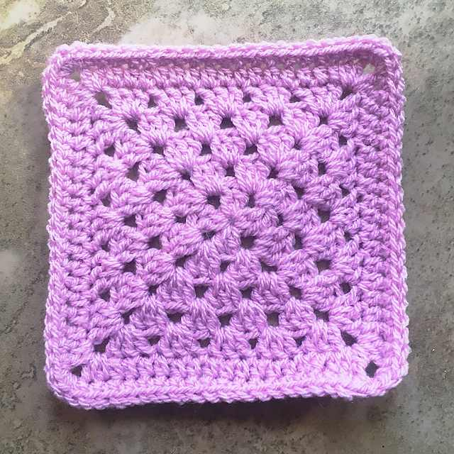 Simple Granny Square Free Crochet Patterns Knit And Crochet Daily