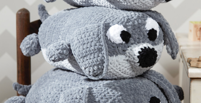 This Pile Of Puppies Free Crochet Pattern Is Perfect For Keeping Any